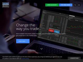 Saxo banque trading forex