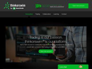 Trading platform better than thinkorswim backtest software